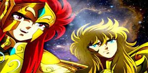 Scorpio Milo and Aquarius Camus OCE