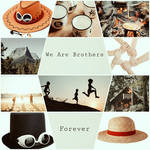 One Piece  Aesthetic - We Are brothers ... forever