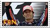 [Stamp] Mark Webber Fan by Elecstriker