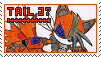 [Stamp] Tail27 the robot Fox by Elecstriker