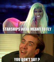 Nicki Minaj's Starships by Elecstriker