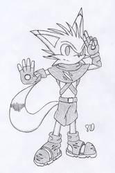 [Sketch] Ethan the Fox by Elecstriker