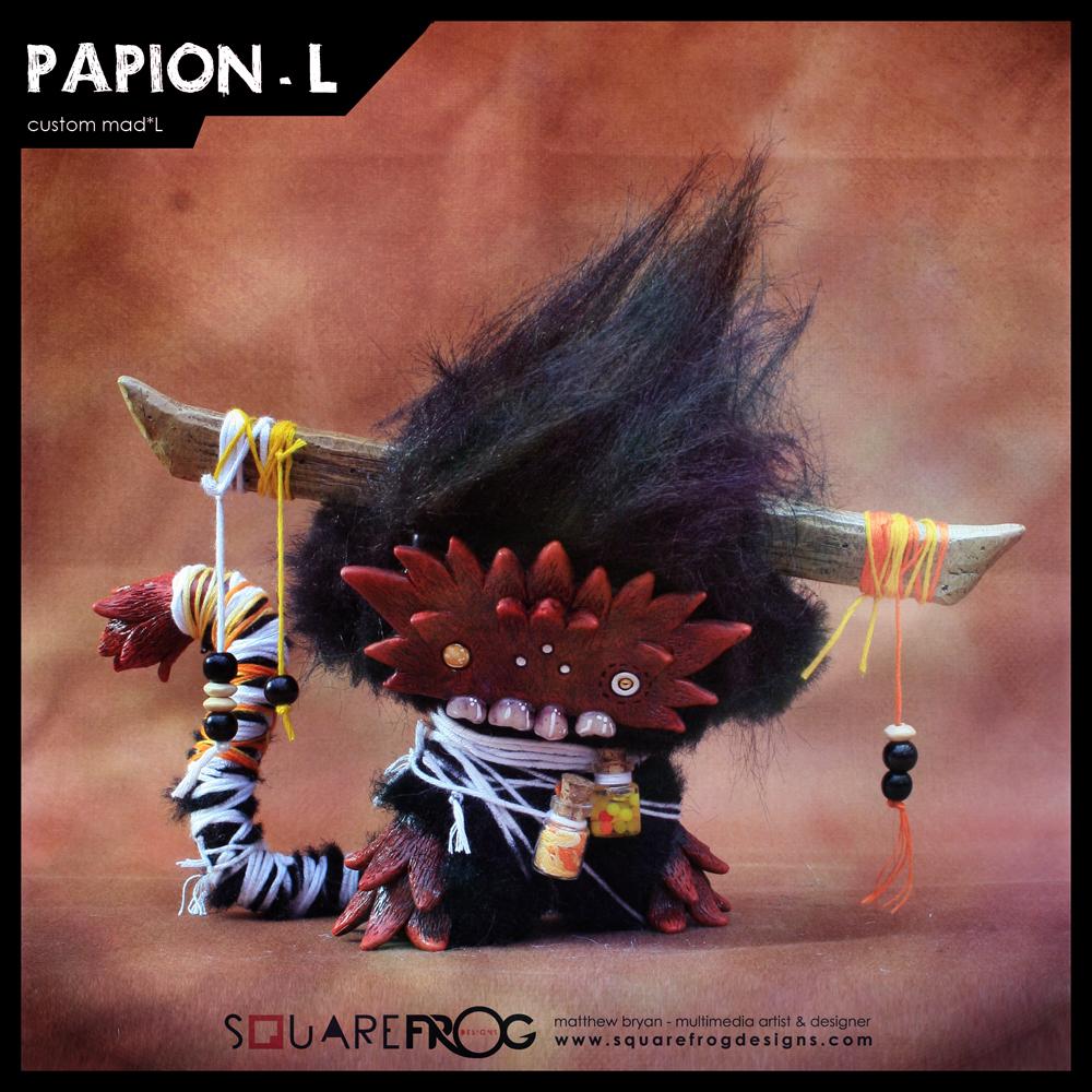 Papionai-L 01 by SquareFrogDesigns