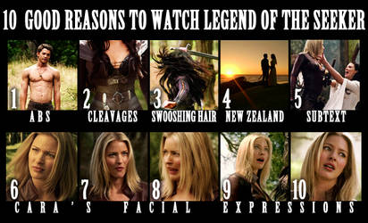 10 good reasons to watch LotS by Uutoq