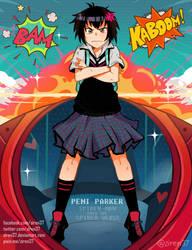 Peni Parker - GAINAX Pose by ziren37
