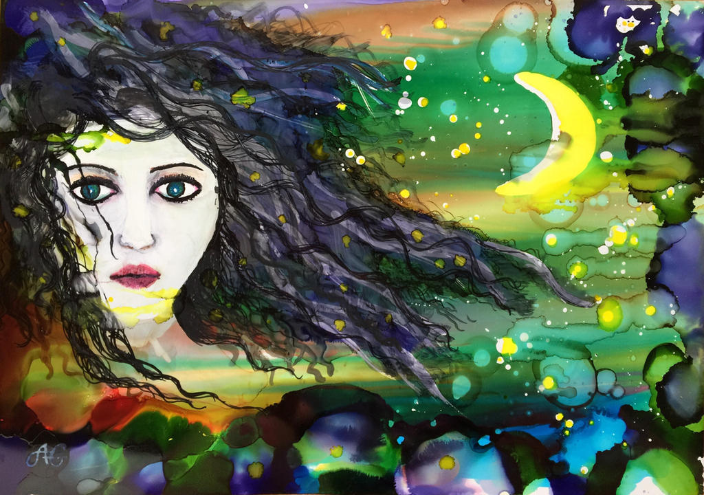 Luna  by Gkantinas