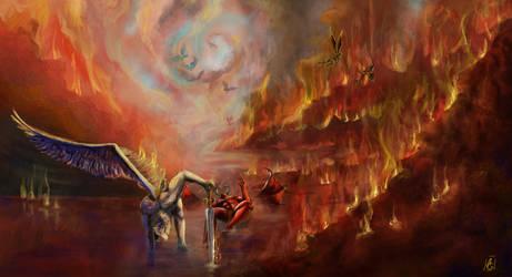 Battle in hell