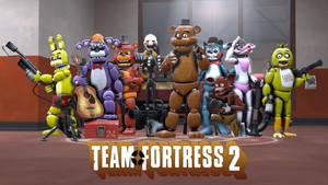 FNAF and TF2 Crossover.