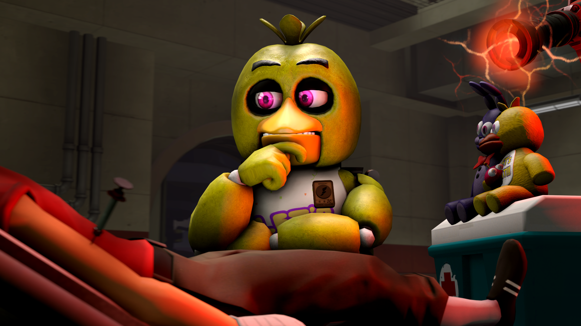 Chica tf2 and fnaf crossover by talondang on deviantart