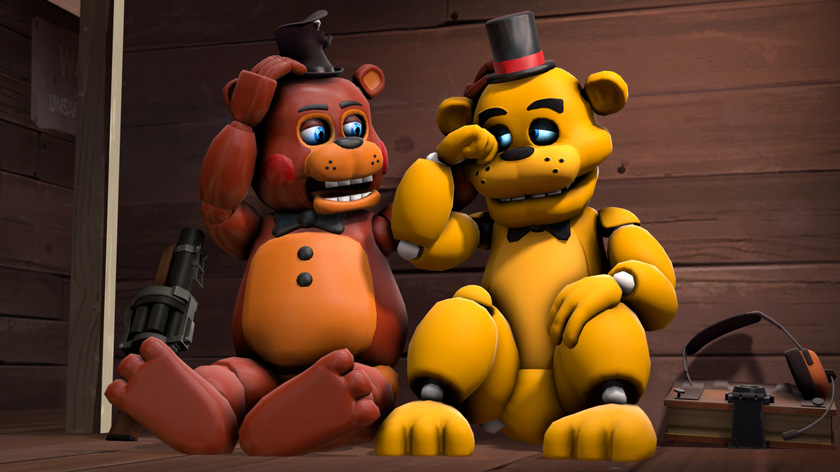 Old Freddy Toys : Gift of appeasement toy freddy and golden by