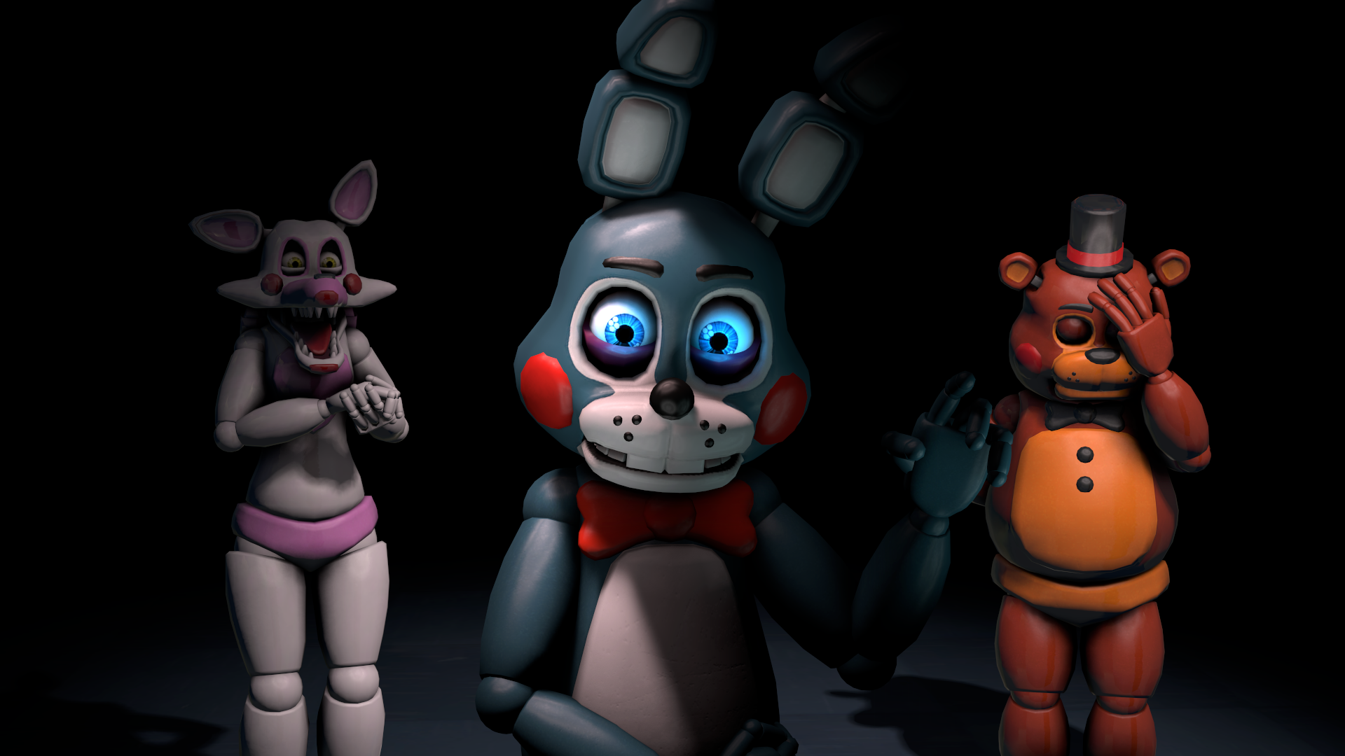 guess who i am toy bonnie by talondang on deviantart