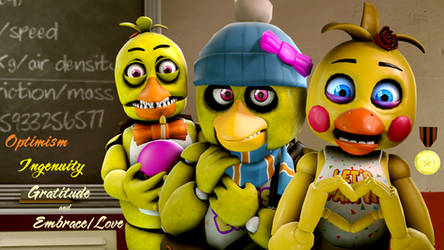 Unwithered, Original and Toy Chica