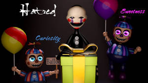 BB, Marionette and Balloon Girl