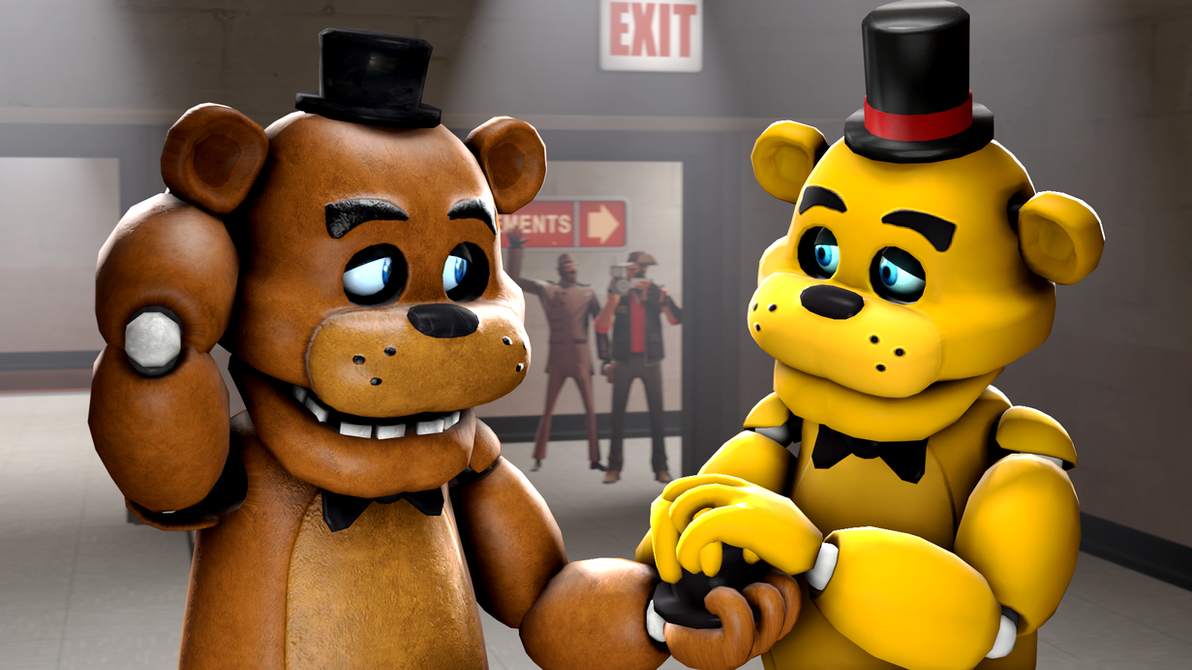 The apology-Freddy and Golden Freddy by TalonDang on ...