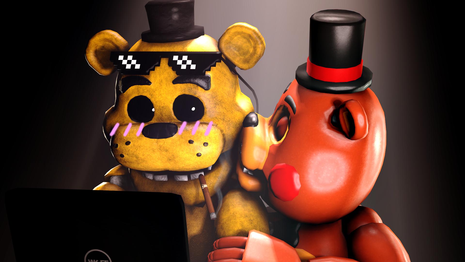 Gold Freddy Toys : Shocked goldy by talondang on deviantart
