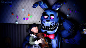 Bed-time Story with Nightmare Bonnie