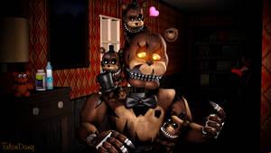 Uh...help?-Nightmare Freddy