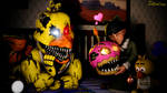 Looks like Cupcake is loved-Nightmare Chica