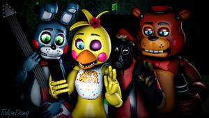 Only we understand the word Selfie-Toy Chica