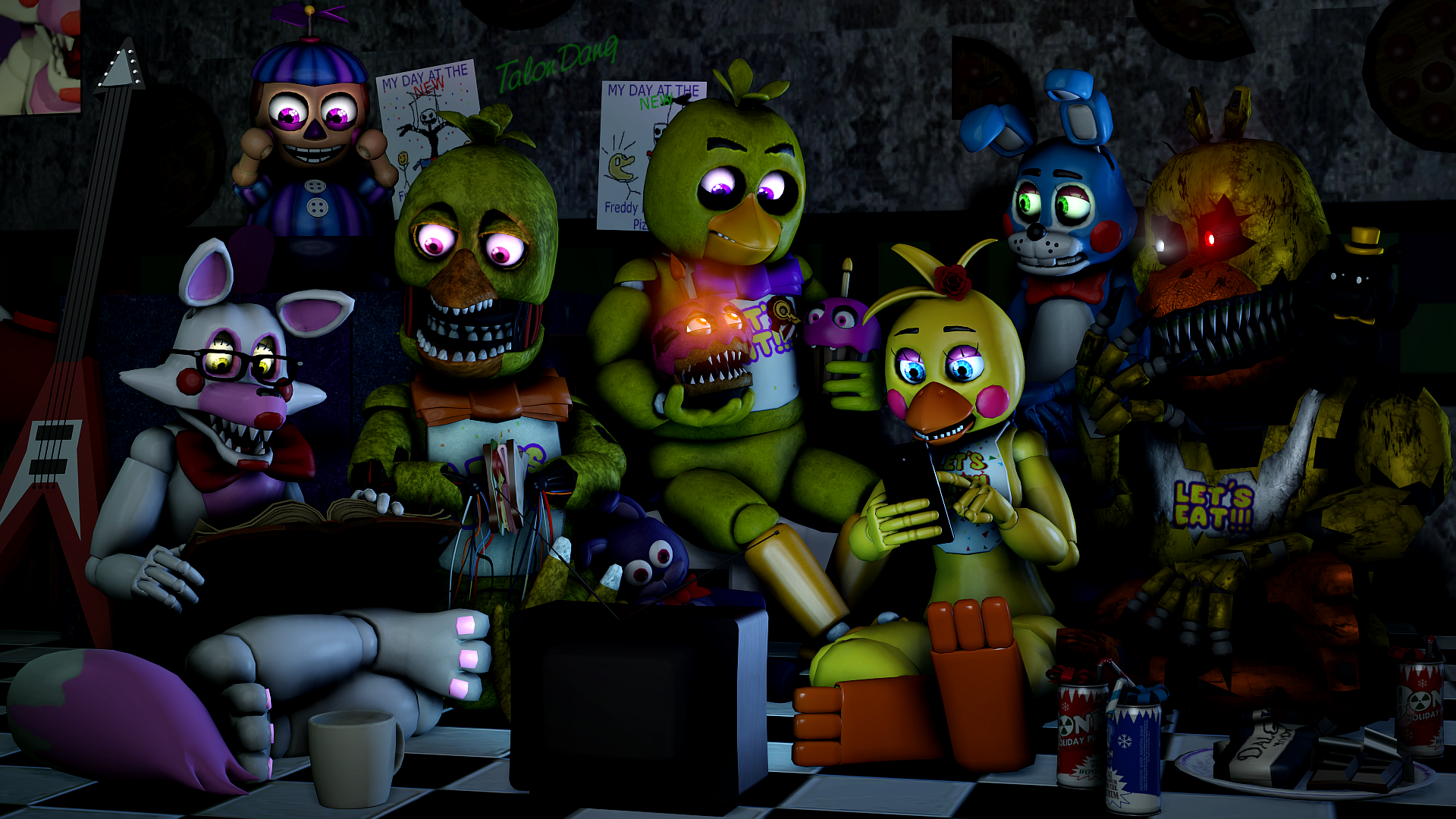 Welcome To The Rainbow Factory Gmod Poster 10 By: Ladies' Sleepover Night By TalonDang On DeviantArt
