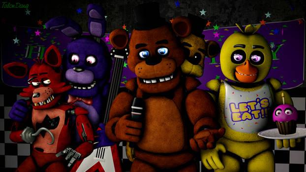 Our Family Photo!-Freddy Fazbear(1st Piece)
