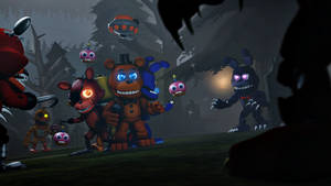 You're not welcome here, Mr.Fazbear!