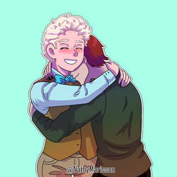 Aziraphale + Crowley on goodomens - DeviantArt