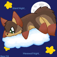 Silent Night, Werewolf Night by Doragonu-Warui