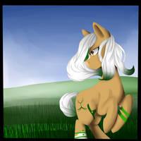 In the grassy Fields:request by LiiflessWolf