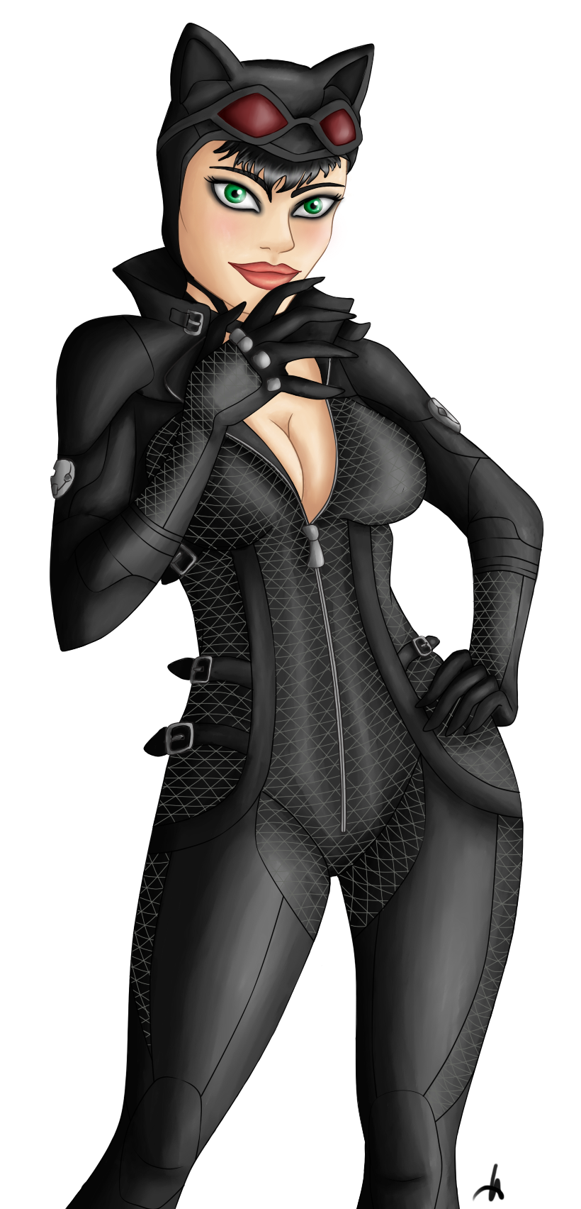 Catwoman by MissMinority