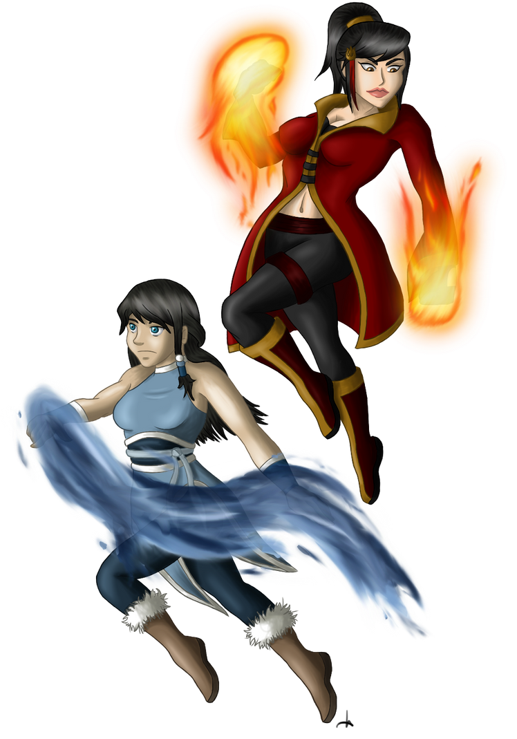Ali and Kari by MissMinority