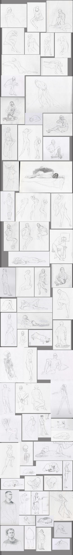 -Life Drawing: Part I- by JoeDillon