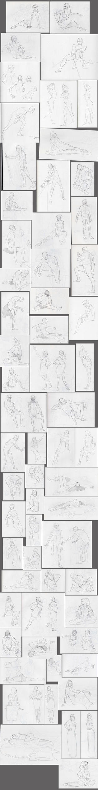 -Life Drawing Part II- by JoeDillon
