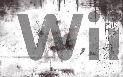 Wii Logo Wallpaper by Desidus