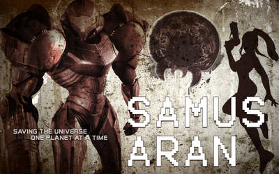 Samus Aran by Desidus