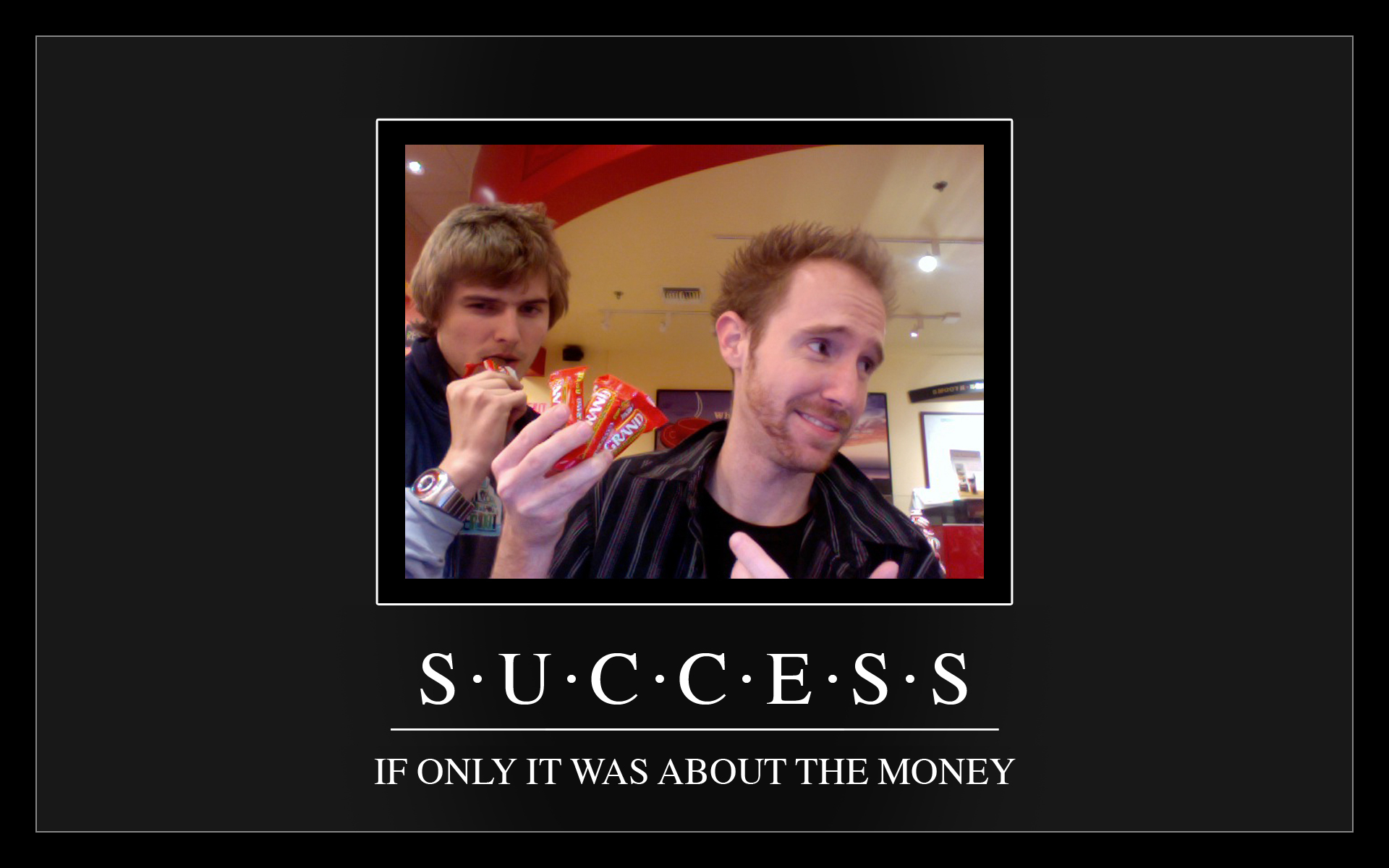 Success - Motivational Poster by Desidus