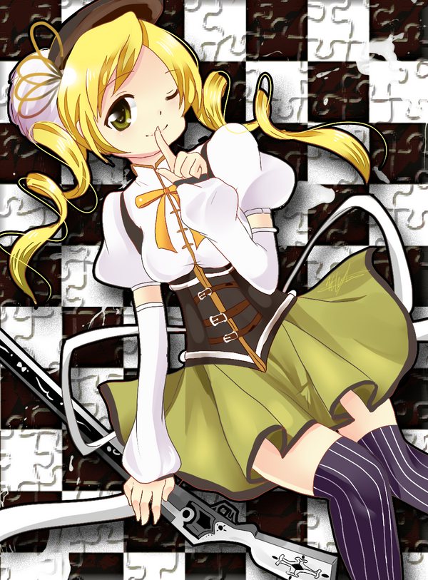 Tomoe Mami by exaxAnami