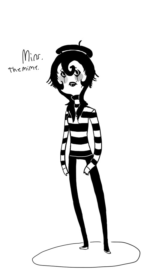 Mins The Mime by Ask-ManyMask