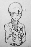 this nerd plays with dolls by cottelini