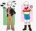 Fashionable Skeleton