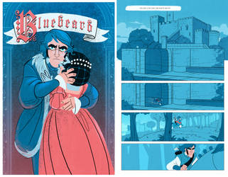 Bluebeard comic by Iulia24