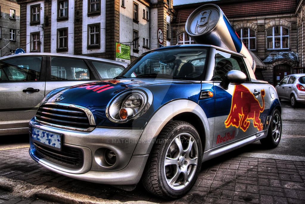 mini cooper r50 red bull by matchieck on deviantart. Black Bedroom Furniture Sets. Home Design Ideas