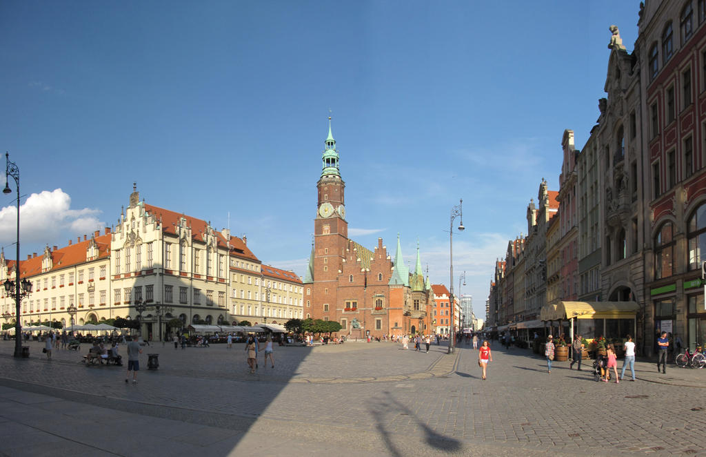 Wroclaw Panorama by matchieck