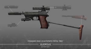 Eliopolis - Standard issue .22 pistol (MEG)
