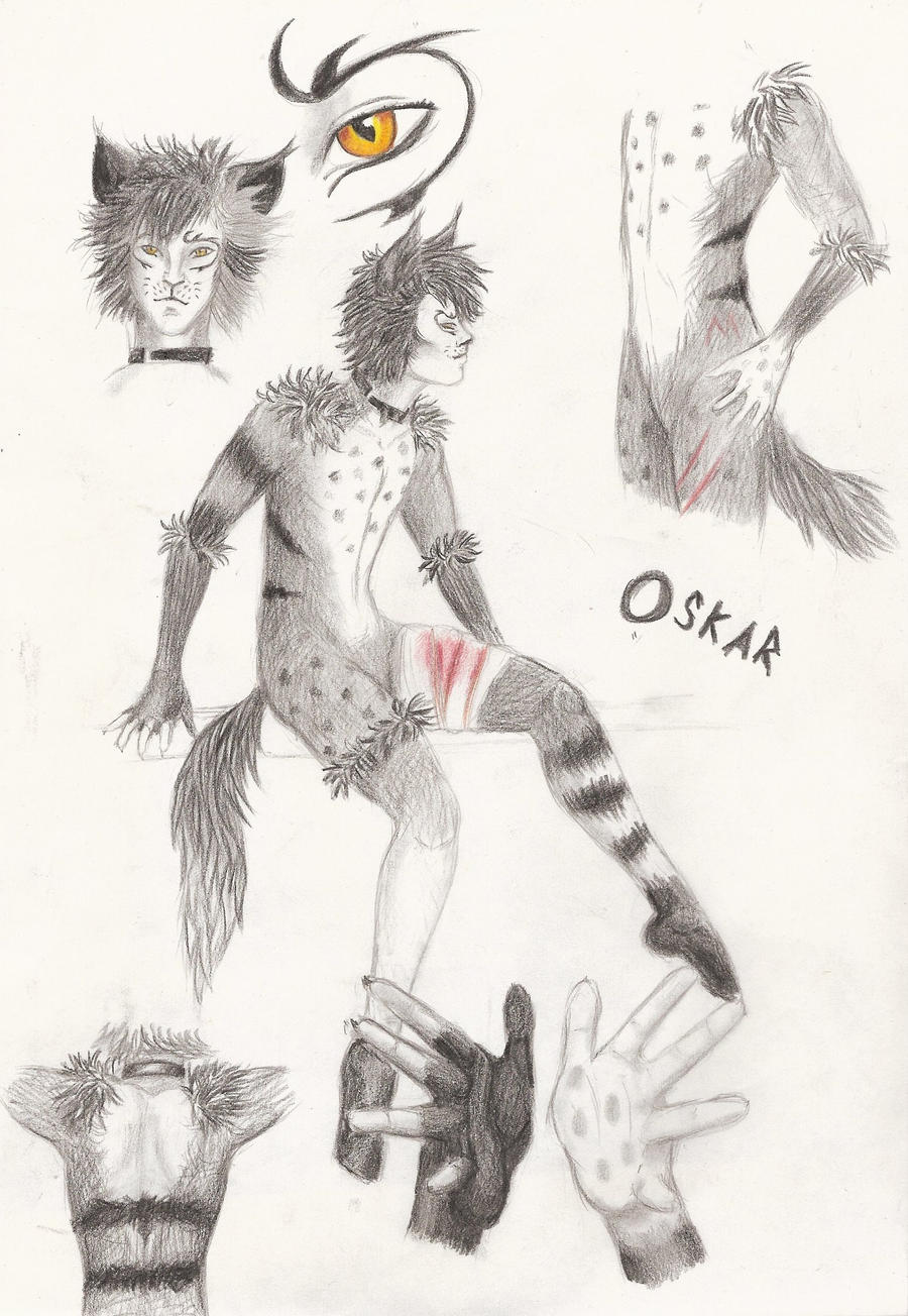 Oskar Reference by SnapBanditWolf