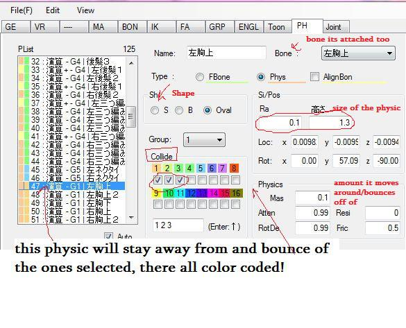 understanding mmd physics: basics by MikiMikuMMD on DeviantArt