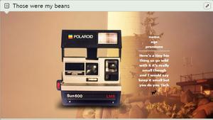those were his beans custom box by bIeachbox