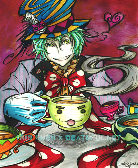 Tea Time Addiction by ghost