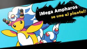 Mega Ampharos joins the battle!