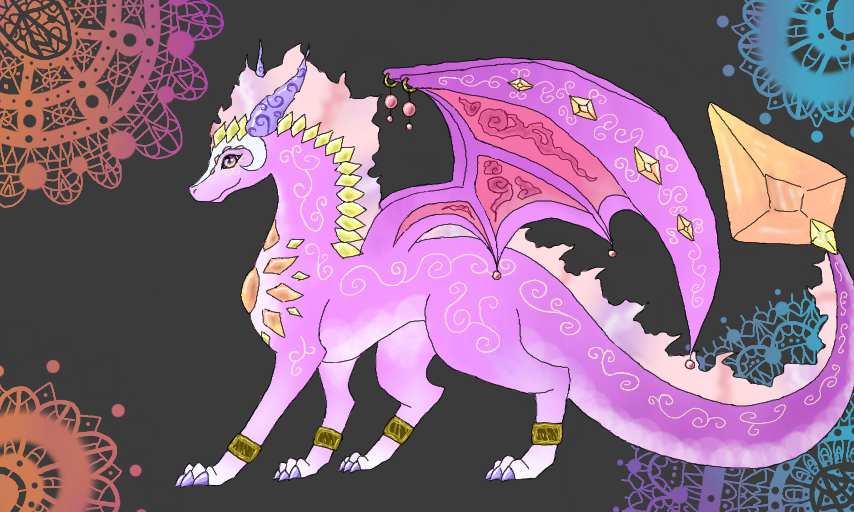 Pastel Dragon Adopt (Open) by Chybelle